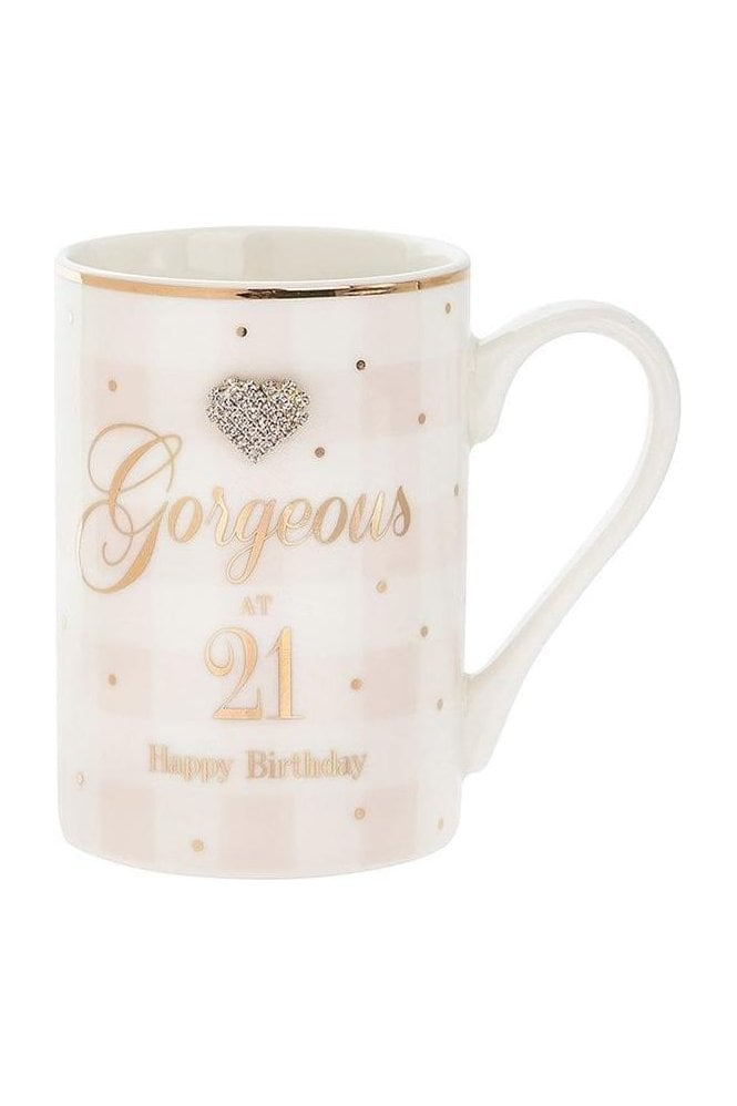 Mad Dots Birthday 21st mug