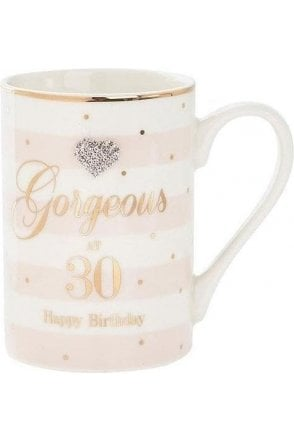 Mad Dots Birthday 30th mug