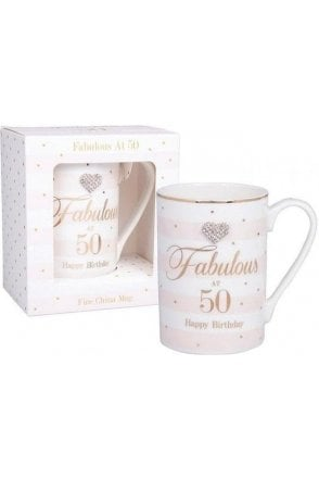 Mad Dots Birthday 50th mug