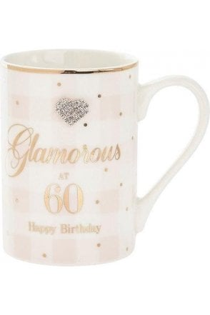 Mad Dots Birthday 60th mug