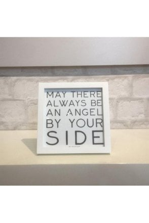 May there always be an angel Plaque
