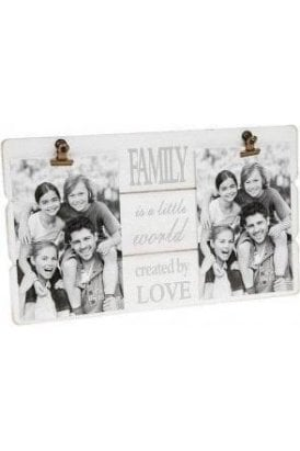Message Clip Frame Double Family