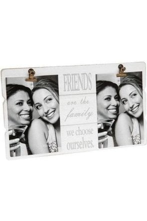 Message Clip Frame Double Friends