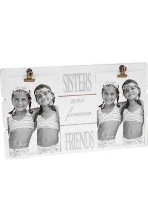 Message Clip Frame Double Sisters