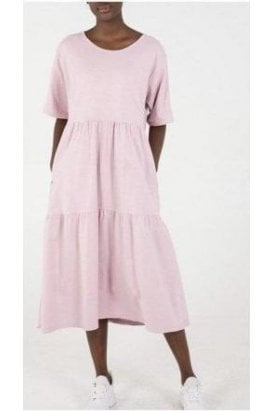 Mia Tiered Easy Dress Light Pink