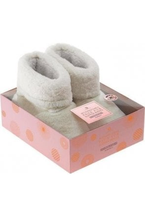 Microwave Fur Slipper Boots