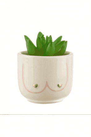 MINI GIRL POWER BOOBIES PLANTER