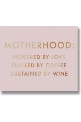 Motherhood Metalic Detail Plaque