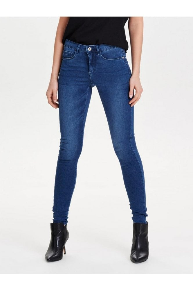 Only Branded Mid Blue Jeans
