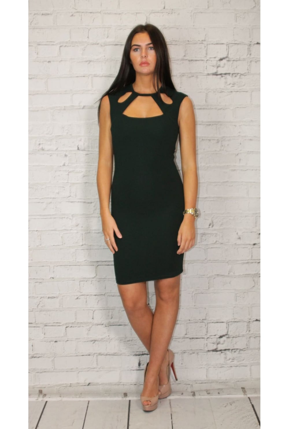 Only Cut Out Party Dress