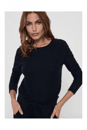 NEW SEASON RIB KNITTED PULLOVER