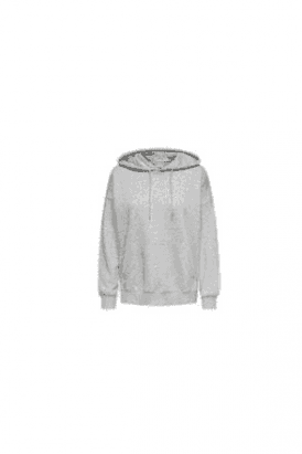 ONLY Organic cotton Hoodie Sweat Top