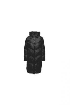 Padded Long Hood Coat
