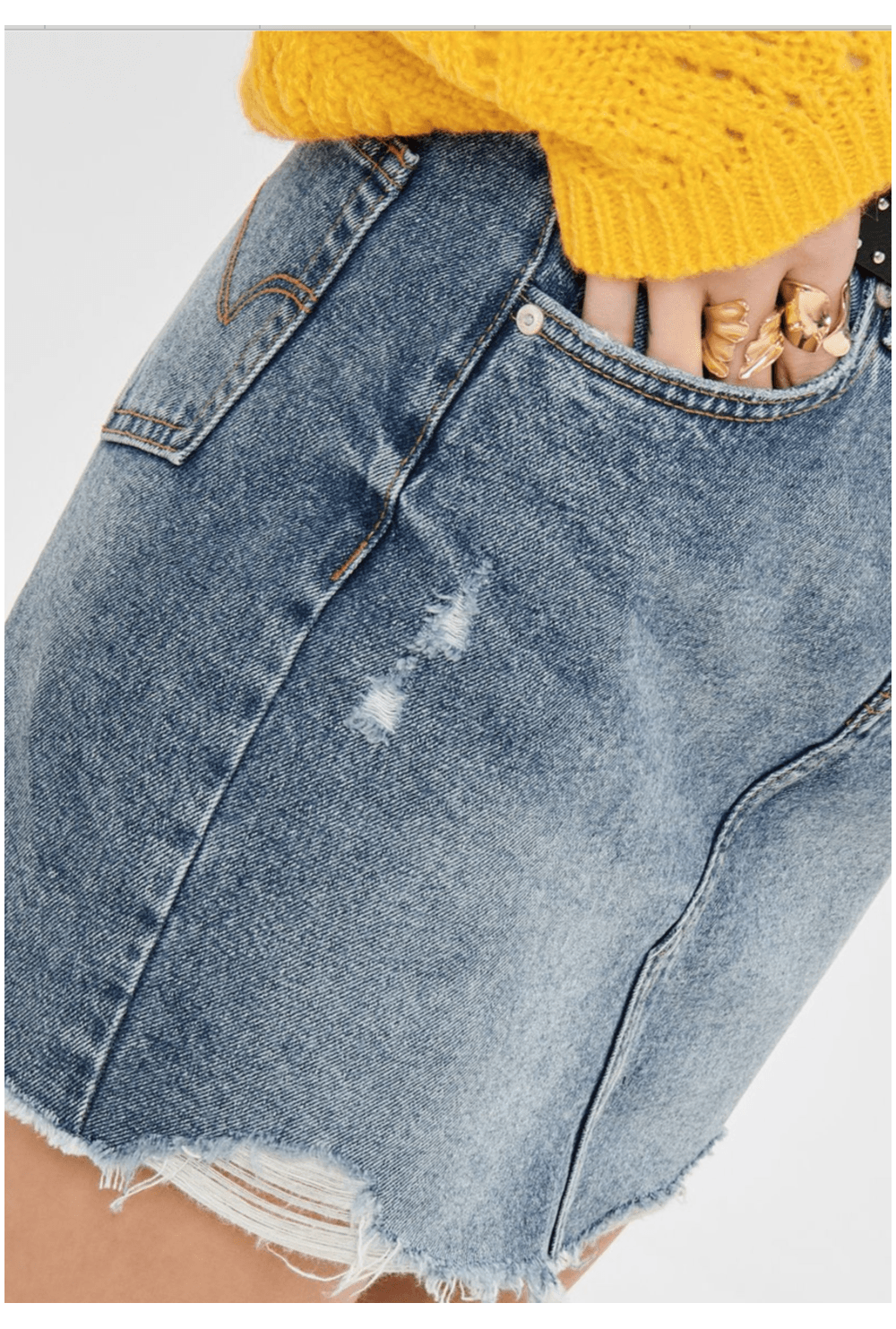 classic luxury big discount of 2019 Only SHORT DENIM SKIRT