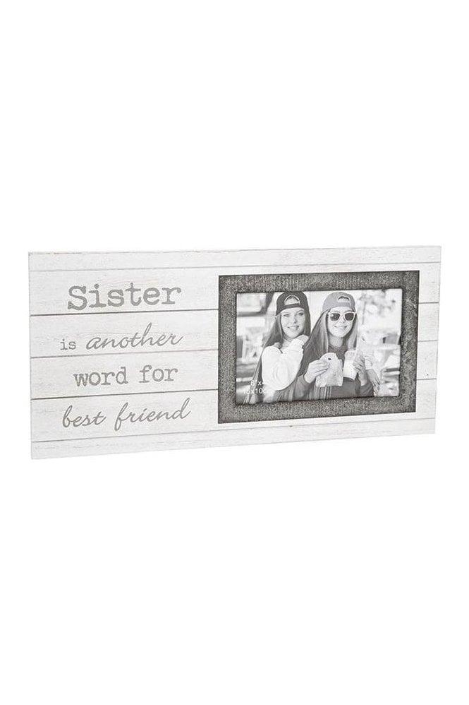 Orford Sentiment Frame 6x4 Sister