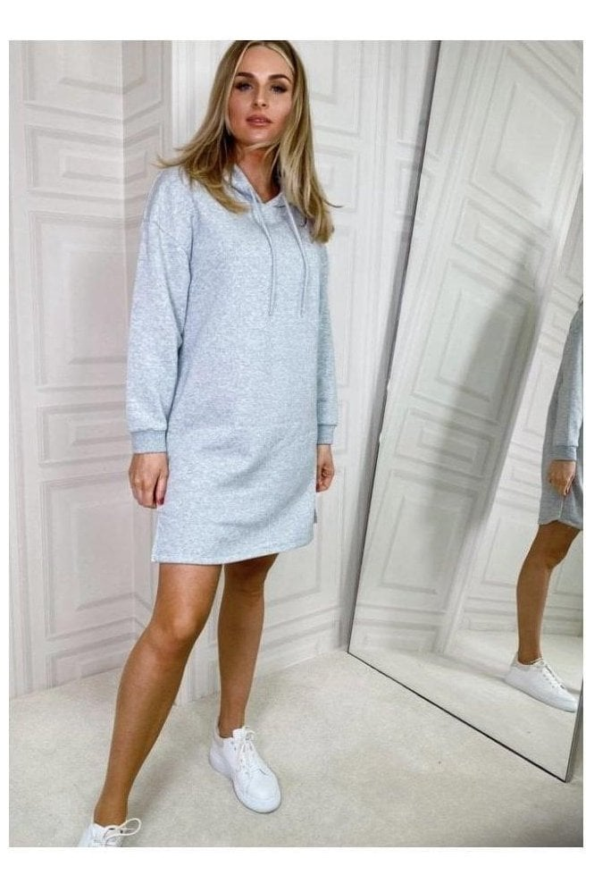 Pieces Ellie Sweat Dress Grey