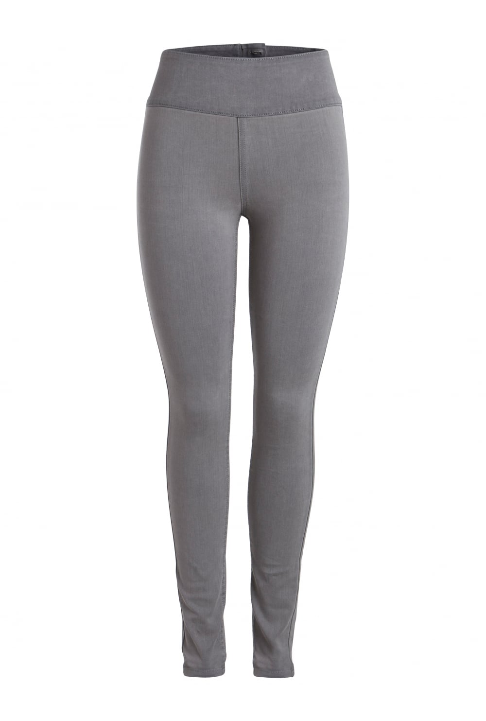 Pieces High Waist Stretch Grey Jeans - Pieces from Ruby Room UK