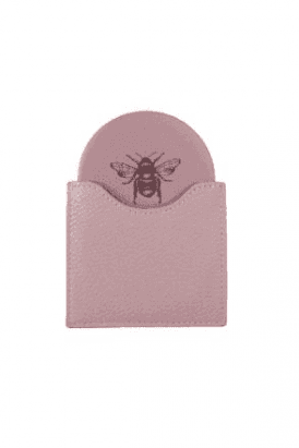 Pink Bee handbag mirror