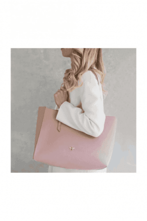 Pink Bee Tote Shopper