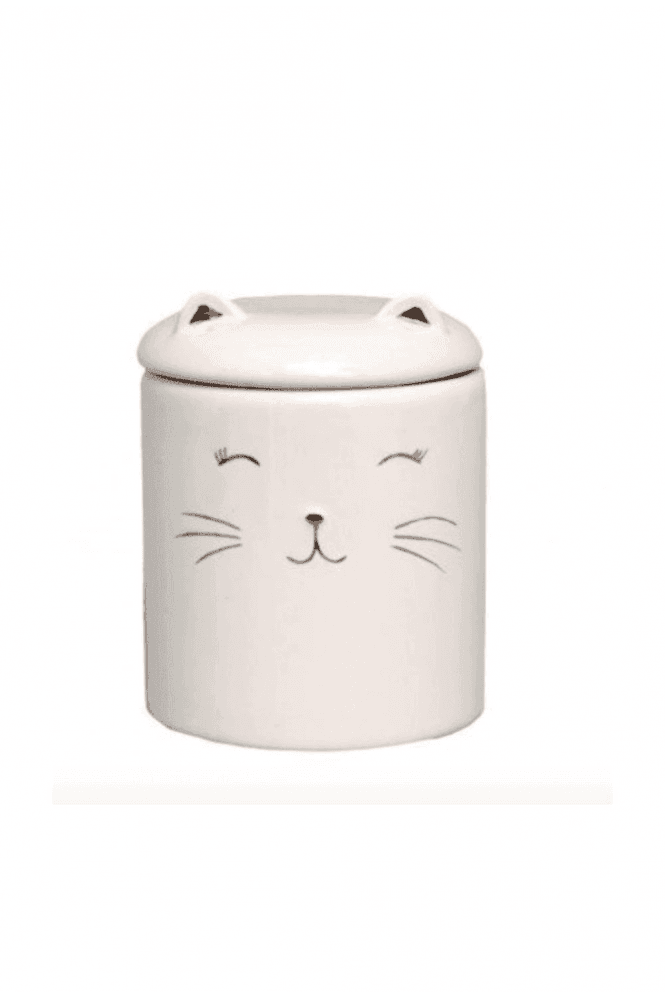 Pussy Cat Cotton Wool Holder
