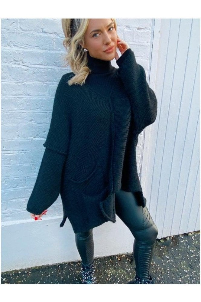 Ryder Oversized Knit Black