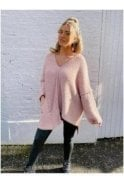 Ryder Oversized Knit Pink