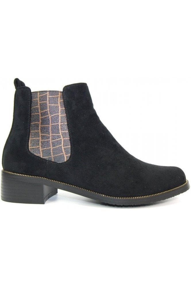 SALE Fabia II Black Ankle Boot