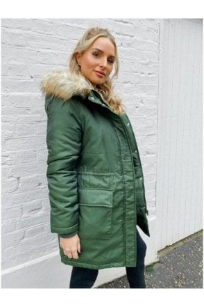 SALE Hattie Metallic Parka