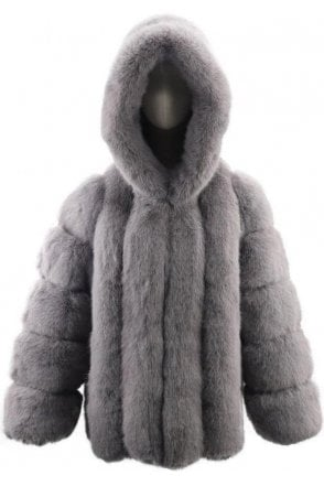 SALE Luxury Faux Fur Jacket