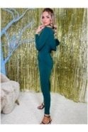 SALE Starr Low Back Jumpsuit Green