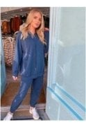 SALE Tanya Sweat Loungesuit Blue
