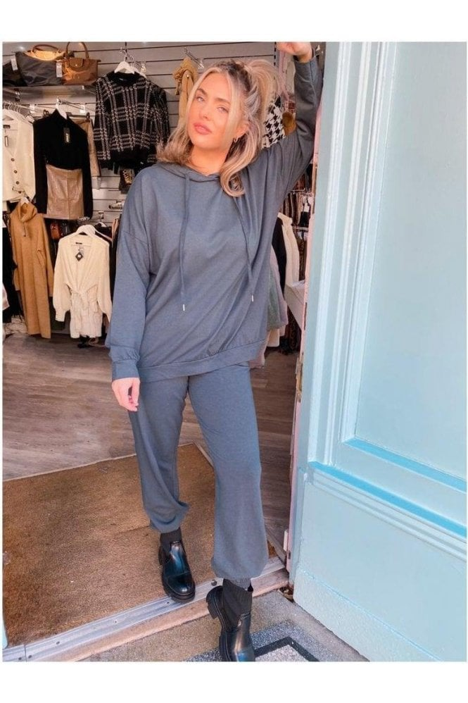 SALE Tanya Sweat Loungesuit Grey