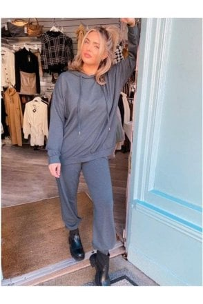 SALE Tanya Sweat Loungesuit Grey