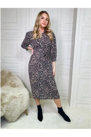 SALE Thea Midi Shirt Dress