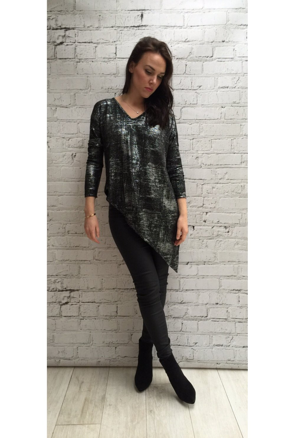 Find great deals on eBay for silver metallic women's tops. Shop with confidence.