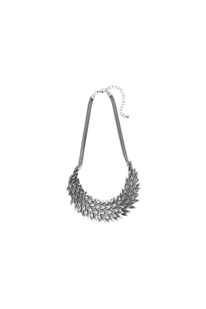 Silver Flat Snake Chain Necklace