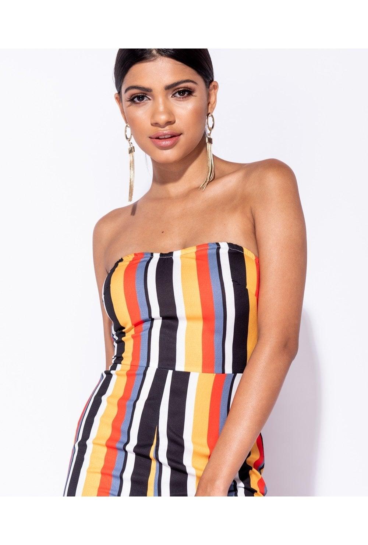 9b76044410dd Valencia Candy Stripe Bandeau Jumpsuit · Valencia Candy Stripe Bandeau  Jumpsuit ...