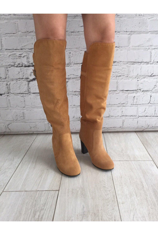 Vero Moda Tan Suede Style Knee High Boot - Vero Moda from Ruby Room UK 417ca2e3c