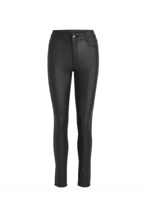 Luxury Wet Look Coated Jeans