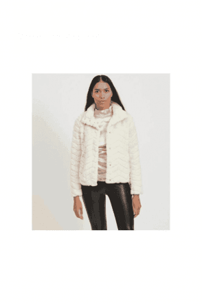 Vila Super Soft Faux Fur Jacket