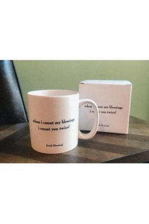 when i count my blessings i count you twice! Mug