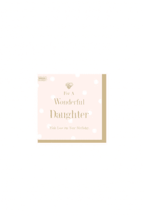 Wonderful daughter Card