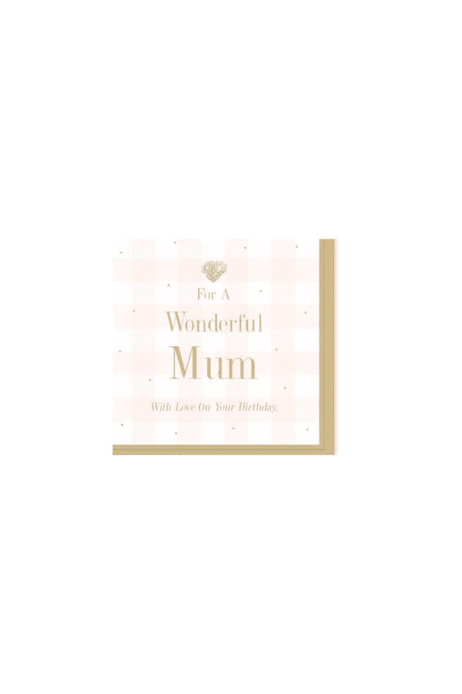 Wonderful Mum Card