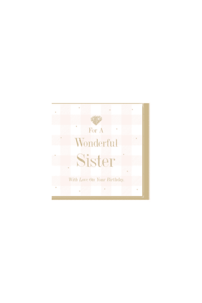 Wonderful sister Card